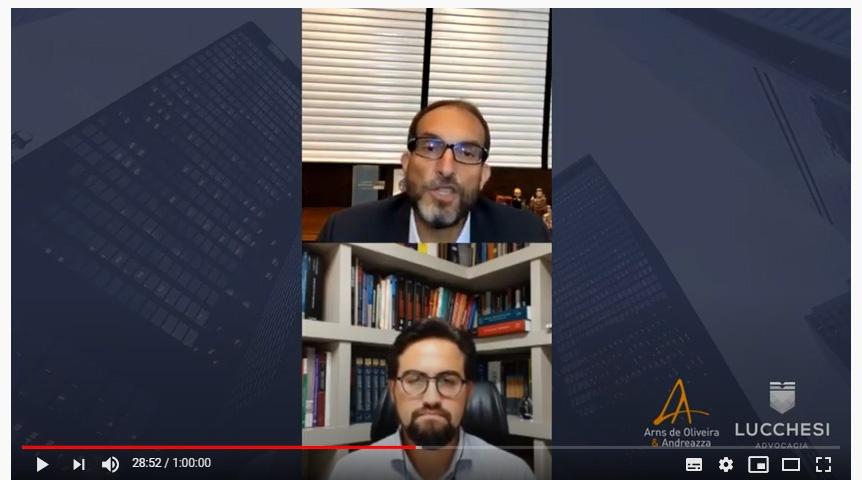 A investigação criminal focada em bens é o novo vídeo no canal de YouTube do escritório Arns de Oliveira & Andreazza
