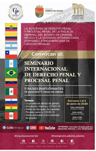 Marlus Arns de Oliveira participa de Seminário Internacional de Direito Penal