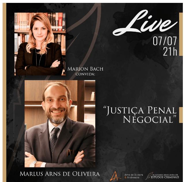 Live Justiça Penal Negocial