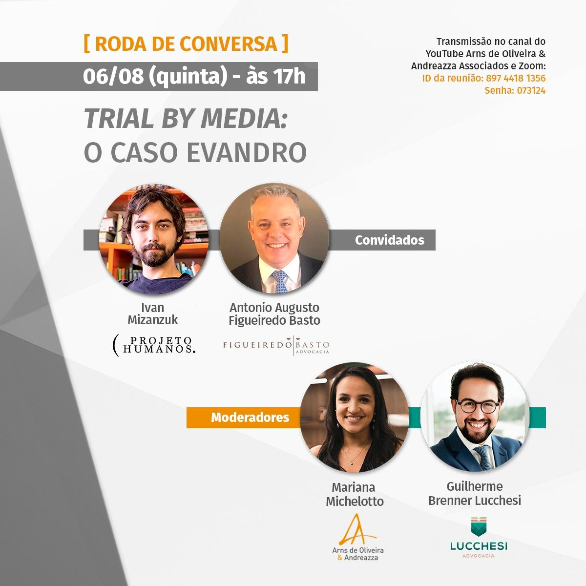Roda de conversa debate a mídia e o Caso Evandro