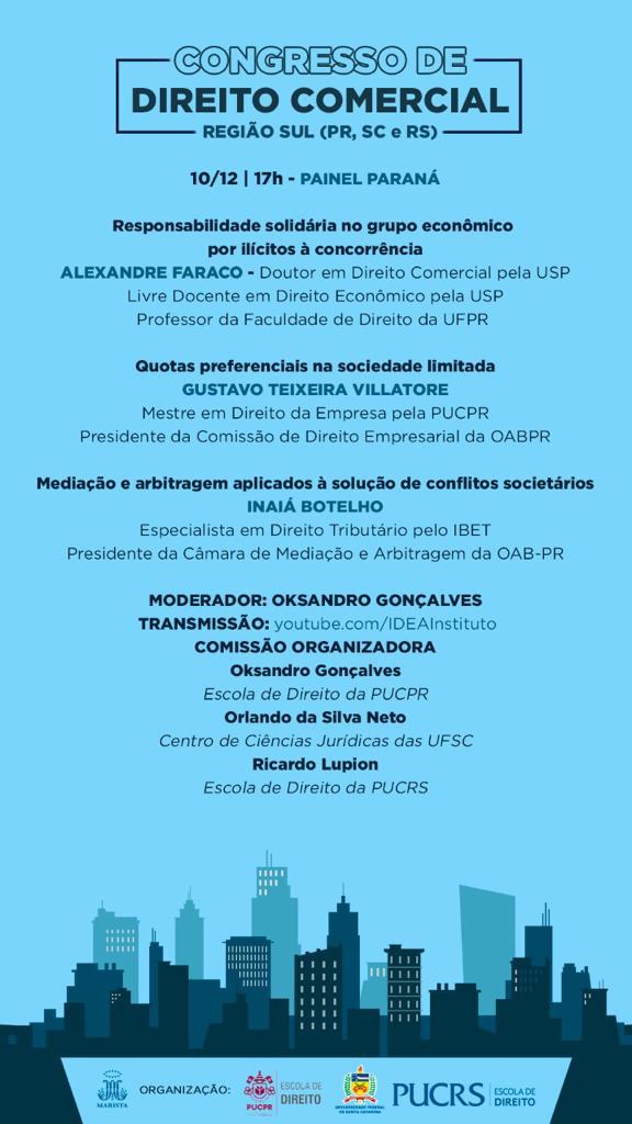 Congresso de Direito Comercial da Região Sul